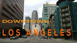 Download Driving in Downtown Los Angeles California in 4K Video