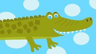 Download ЧАСИКИ Тик Так - Hickory Dickory Dock - Веселая развивающая песенка мультик для детей про животных Video