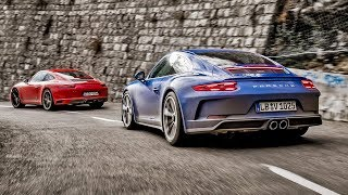 Download Porsche 911 Carrera T vs Porsche GT3 Touring | Top Gear Video