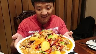 Download GIANT SPICY Chicken & Hand Pulled Noodles: Xinjiang Cuisine Guide Video
