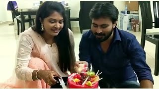 Download Rachitha ❤ Dinesh Wedding Anniversary Celebration's Video with Mumtaj Lovely Moments.... Video