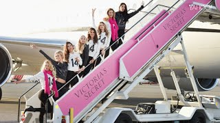 Download Flying Victoria's Secret's Angel Airplane Video