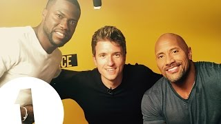 Download ″Greg's about to cry!″ - Dwayne 'The Rock' Johnson & Kevin Hart meet BBC Radio 1's Greg James Video