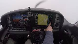 Download Landing a Cirrus SR22 in Freezing Fog and Snow | ILS Approach to Minimums | READ DESCRIPTION Video