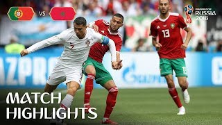 Download Portugal v Morocco - 2018 FIFA World Cup Russia™ - Match 19 Video