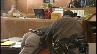 Download Convicted Murderer Fights Deputies At Sentencing 2010 Video