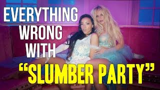 Download Everything Wrong With Britney Spears - ″Slumber Party″ Video