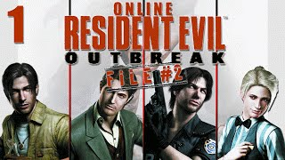 Download Resident Evil Outbreak File 2 Online Co-Op - Stage 1 Wild Things Part 1 Video