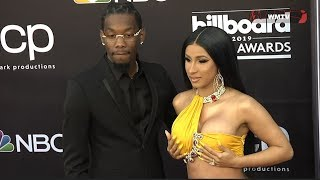 Download Cardi B and Offset arrive at 2019 Billboard Music Awards Red carpet Video