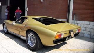 Download Lamborghini Muira SV Startup and Small Revs! Video