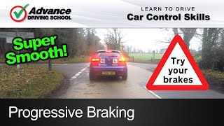 Download Progressive Braking | Learning to drive: Car control skills Video