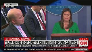 "Download White House says it revoked Brennan's security clearance to ""protect"" classified info Video"
