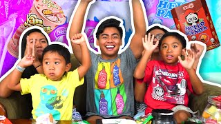 Download TRYING OUT DELICIOUS ASIAN SNACKS! ft. My Little Cousins! Video