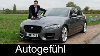 Download Jaguar XF FULL REVIEW test driven R-Sport 2.0d 2nd generation MY2016 all-new neuer Video