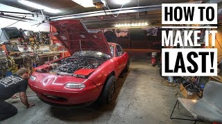 Download Prepping a Blown up Car For a 3 Day Drift Event Video