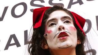 Download O Rei da Vela - 4º Ato com Camila Mota, o elenco e o público do espetáculo - Teatro Oficina Video
