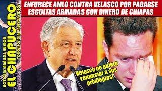 Download ENFURECE AMLO con Manuel Velasco por haberse asignado escoltas por ¡15 años! Video