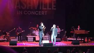Download Let It Be Me - Everly Brothers cover - Jonathan Jackson & Charles Esten - Nashville In Concert 2017 Video