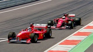 Download Ferrari F1 2017 vs Ferrari F1 1998 - Red Bull Ring Video