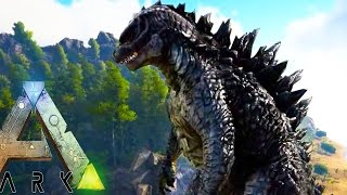 Download Ark Survival Evolved - GODZILLA EARLY ACCESS, NEW DRAGONS, NEW BATTLE ARENA - (Ark Modded Gameplay) Video