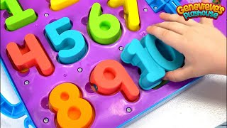 Download Best of Genevieve Toddler Learning Video for Kids Learn Colors Numbers Family Fun Playing with Kids! Video