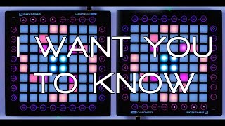 Download Nevs Play: Zedd - I Want You To Know (Launchpad Pro Cover) Video