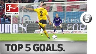 Download Overhead Kicks, Long-Range Efforts and Flying Starts - The Top 5 Goals on Matchday 12 Video