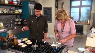 Download Poached Eggs & Pancakes - Cooking with the Boys - Mad Hungry with Lucinda Scala Quinn Video