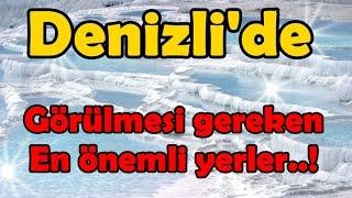 Download Denizli'de Gezilmesi Gereken, En Önemli Yerler..! Video