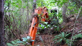 Download Abandoned Excavator left in woods for 16 years- Will it start ?? Video