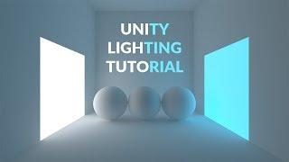Download Unity 2017 Tutorial - Lighting a Simple Scene Video