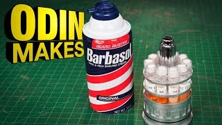 Download Odin Makes: Barbasol Cryocan from Jurassic Park Video