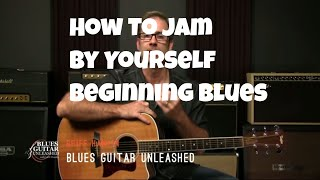 Download Acoustic Blues Guitar - How To Jam Alone As A Beginner Video