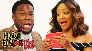 Download Kevin Hart and Tiffany Haddish Play Truth or Dab | Hot Ones Video
