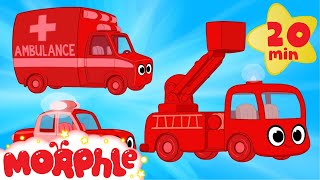 Download My Magic Ambulance Morphle + My Magic Police Car Morphle and Fire Truck - Kids Vehicle Compilation! Video