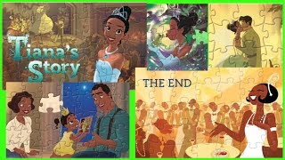 Download Disney Princess Tiana Story Jigsaw Puzzle games for kids Video