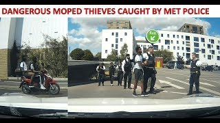 Download LONDON KNIFE POINT MOPED THIEVES CAUGHT BY MET POLICE (Read Description) Video