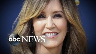 Download Felicity Huffman to be sentenced in 'Varsity Blues' scandal l ABC News Video