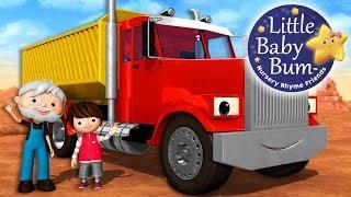 Download Song About Trucks | Nursery Rhymes | Original Songs By LittleBabyBum! Video