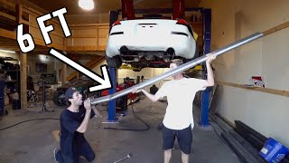 Download STRAIGHT PIPING MY 2JZ 350Z Video
