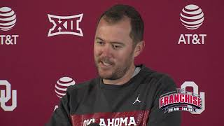 Download TCU Game Week Press Conference: Lincoln Riley Video