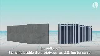 Download Trump Makes Border Wall Visit To California Video