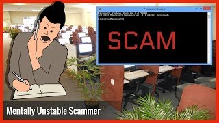 Download Tech Scammer Lady Is Mentally Unstable After Failed Scam Video