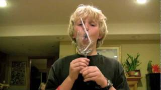 Download Boy Breaks Wine Glass with Voice Video