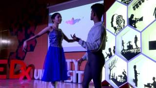 Download Finest Indian Male Ballet Dancer | Sanjay Khatri | TEDxAmityUniversity Video
