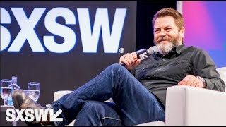 Download A Conversation with Nick Offerman Moderated by Nick Kroll — SXSW 2017 Video