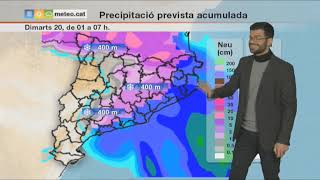 Download Predicció general per a dilluns 19-03-2018: baixa la cota de neu Video