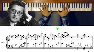 Download A Piano Piece with Perfect Harmony (Fugue in A Major by Dmitri Shostakovich) Video
