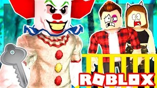 Download Roblox Family - CREEPY CLOWN TRAPS US IN A ROOM! WE MUST ESCAPE!! (Roblox Roleplay) Video