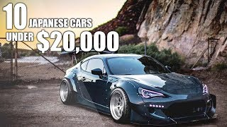 Download Top 10 JDM Cars UNDER $20,000! Video